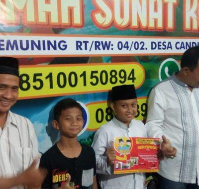 Sunat Tanpa Jarum Suntik Modern di Malam Adha STJS Jombang