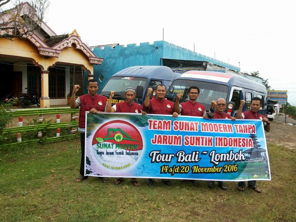 Persiapan seminar sunat modern tanpa suntik indonesia ntb
