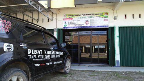 Baru sunatan tanpa jarum suntik Sumatra